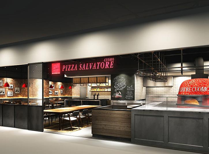PIZZA SALVATORE CUOMO LOTTE Department Store Busan